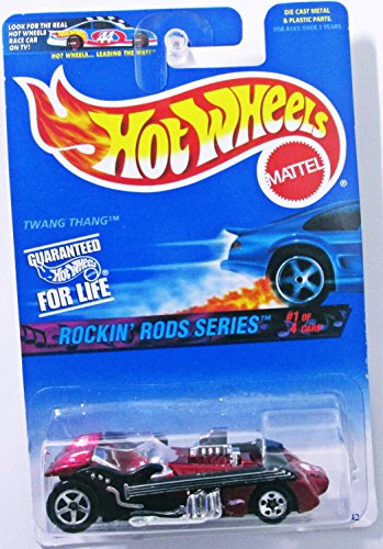 Hot Wheels 1996 164 Rockin Rods Series 1 of 4 Twang Thang Guitar Car Style Die Cast Car Collector 569