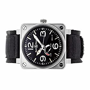 Bell & Ross Aviation automatic-self-wind mens Watch BR01-97-PR (Certified Pre-owned)