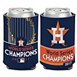 Houston Astros WinCraft 2017 World Series Champions 12oz. Logo Can Cooler