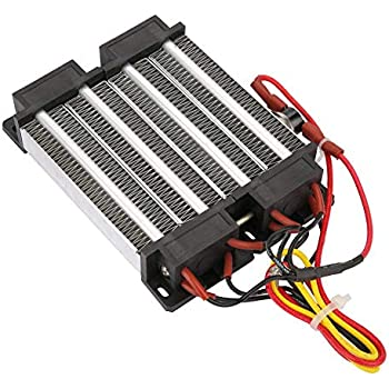 PTC Ceramic Air Heater 110V/220V 1000W Insulated PTC Ceramic Air Heater PTC Heating Element (110V)