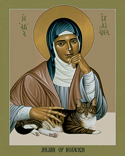 Trinity Stores Religious Art Giclee Print - 11x14 Julian of Norwich by Br. Robert Lentz, OFM