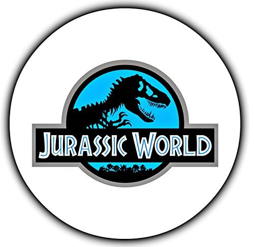 Jurassic World Dinosaur Edible Image Photo Cake Topper Sheet Birthday Party - 8 Inches Round - 10124