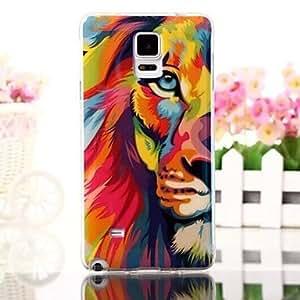 YULIN Teléfono Móvil Samsung - Cobertor Posterior - Diseño Especial - para Samsung Galaxy Note 4 Silicona )