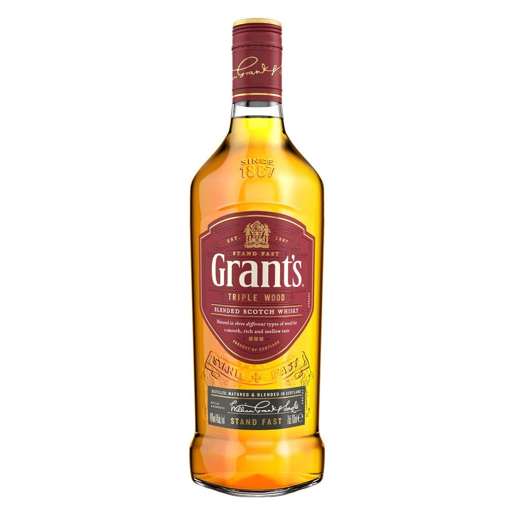 Velsete Grant's Scotch Whisky, 700ml: Amazon.co.uk: Grocery DS-04