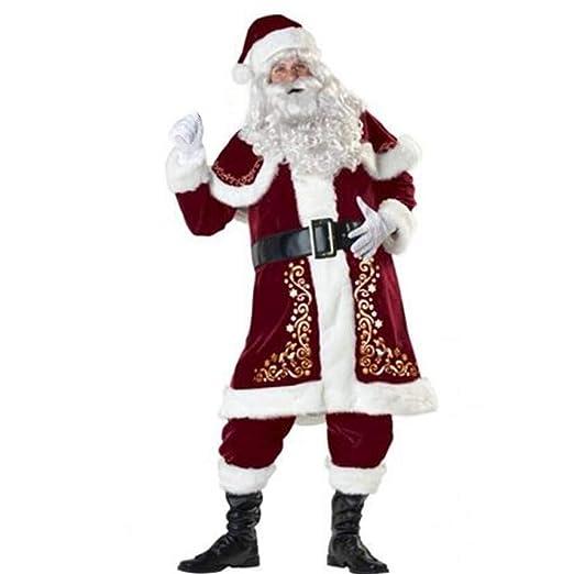 Mumuj Disfraz de Papá Noel, Disfraz de Papá Noel para Adultos, de ...