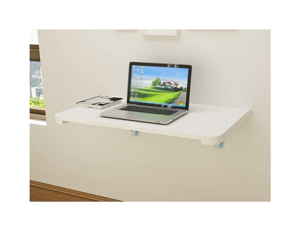 C 7040cm LQQGXLPortabler Klapptisch Klapptisch aus massivem Holz, an der Wand befestigter Computertisch, einfacher Lernschreibtisch, (Farbe   C, größe   70  40cm)
