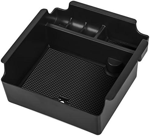 OxGord Center Console Organizer Tray Insert Armrest Secondary Storage Glove Box Best for 2016-2018 Nissan Maxima