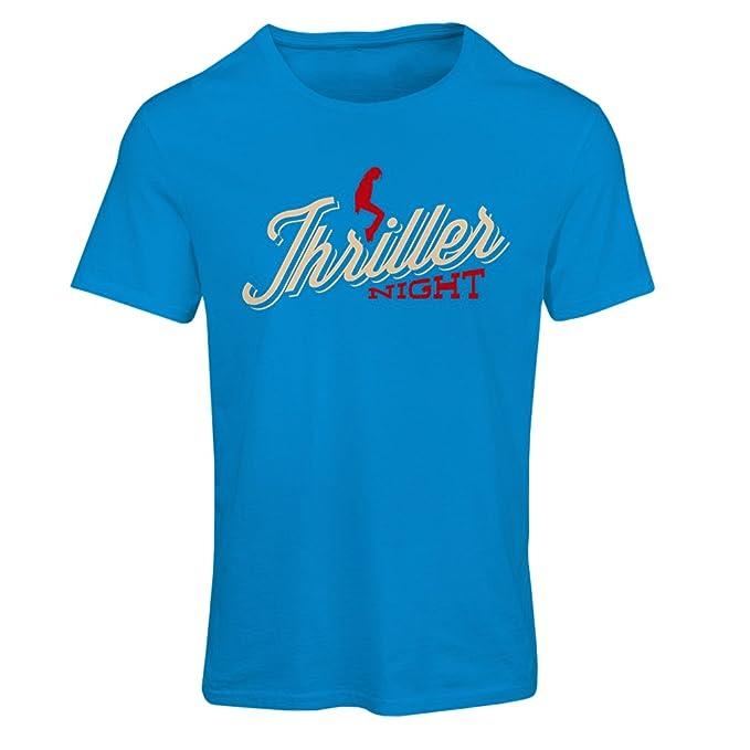 Camiseta mujer The Thriller Night - 1980s 1990s, MJ rey de la música pop (