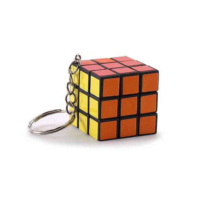 TiooDre Cubo Creativo Mini Llavero Lindo de Rubik: Amazon.es ...