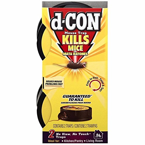 D-Con No View, No Touch Covered Mouse Trap, 1 Trap (Pack of 6) by D-Con