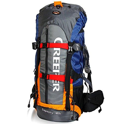PhilMat 60L Rucksack Camping Wandern Trekking Reisen Nylon Tasche für das Bergsteigen