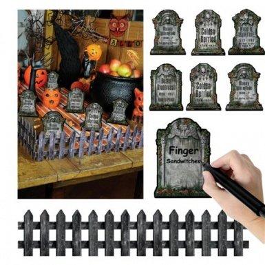 Tabletop Graveyard 9pc Decoration]()