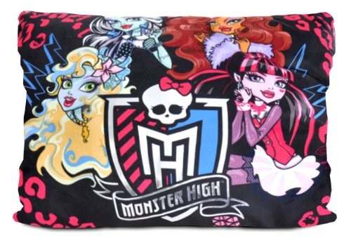Monster High Monster High Characters Pillow, 20 x 26'' by Monster High