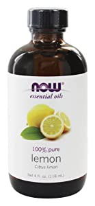 NOW Foods Essential Oils Lemon, (4 FL OZ)