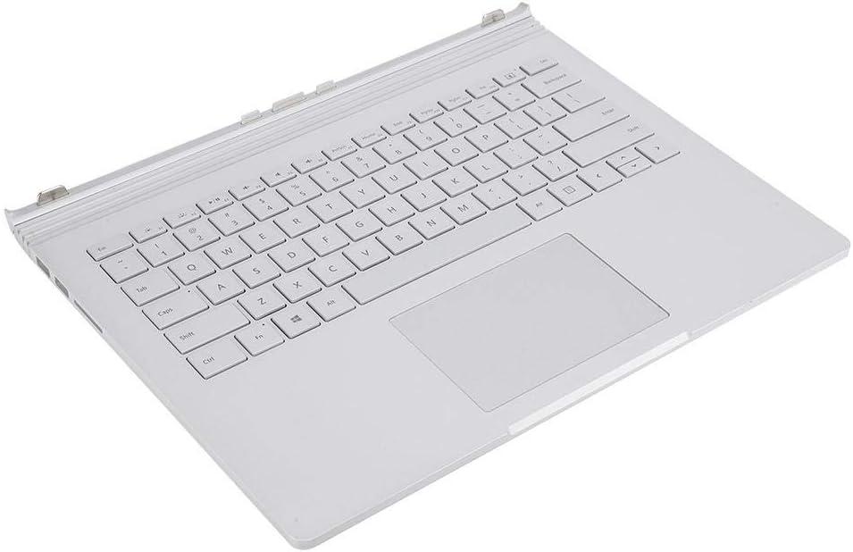 Silber Hopcd Laptop-Tastatur f/ür Surface Book Multifunktions-Notebook Laptop-Tastatur Ersatz f/ür Microsoft Surface Book 1 1704