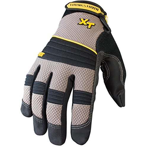 Youngstown Glove 03-3050-78-XL Pro XT Performance Glove XLarge, Gray
