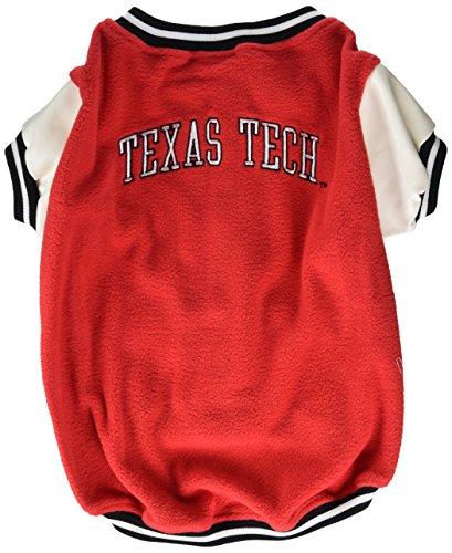 Sporty K9 Texas Tech Varsity Dog Jacket, Large by Sporty K9