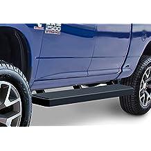"Matte Black 6"" iBoard Running Boards Fit 09-17 Dodge Ram 1500/2500/3500 Crew Cab"