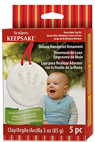 Polyform Sculpey Keepsake Handprint Ornament -