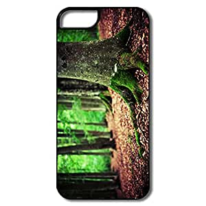 Custom Protective PC Skins Woods For Iphone 5 Cases