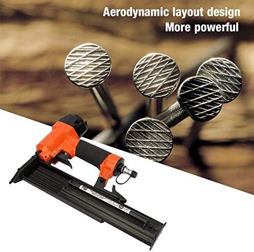 Pneumatic Nail Gun F50 Framing Nailer Ergonomic 18GA 1.25 1.0mm Coil Roofing Nails No Scratches