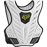 Fox Racing Titan Sport Subframe Men's Roost Deflector MX Motorcycle Body Armor - Black/Silver / Large/X-Large