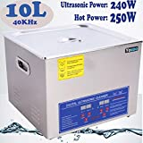 Industry Jewelry Cleaner, Stainless Steel 10L
