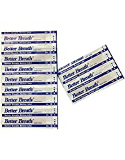MQUPIN 70/100/150/300-Count Better Breath Nasal Strips Large (66mm*19mm) Anti-Snoring Strips (150)