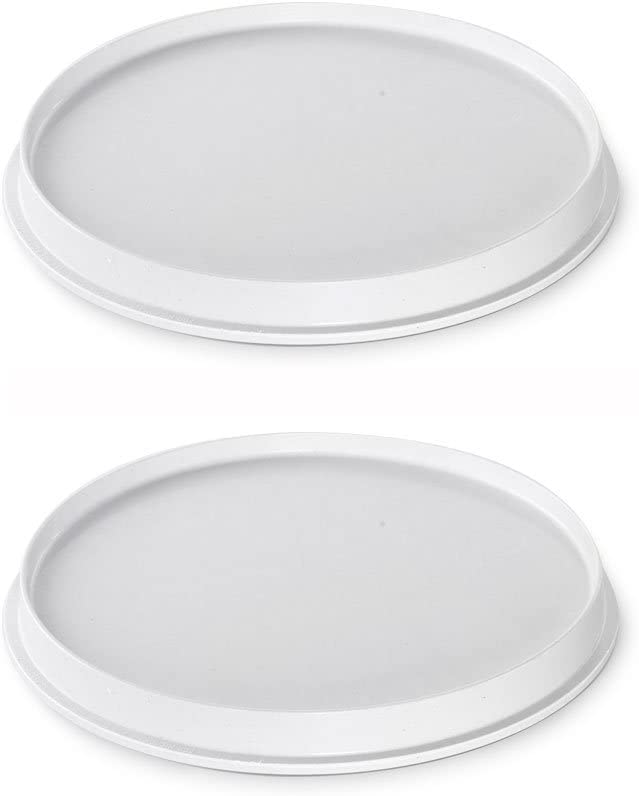 Nordic Ware Microwave 2-Sided Round Bacon and Meat Grill (2)