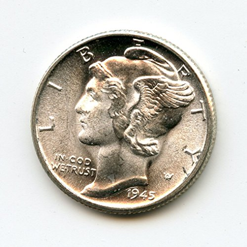 1945 Mercury Dime Dime MS-66