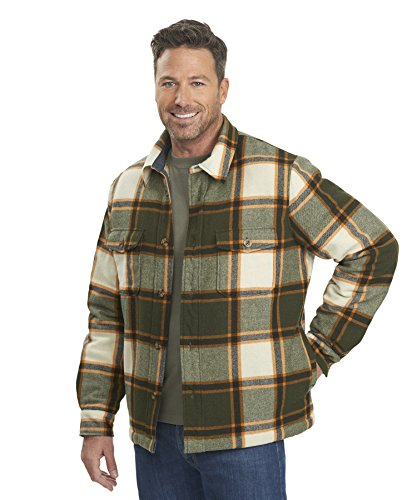 woolrich-mens-charley-wool-shirt-jac-olive-green-size-m