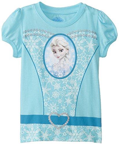 Frozen Little Girls' Elsa T-Shirt, Cancun, 2T -