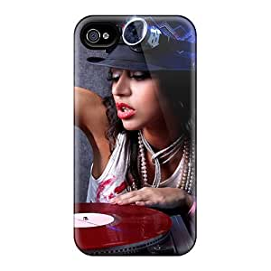 ChrisHuisman VPK12363ohIq Cases Covers Iphone 6 Protective Cases The Girl Dj