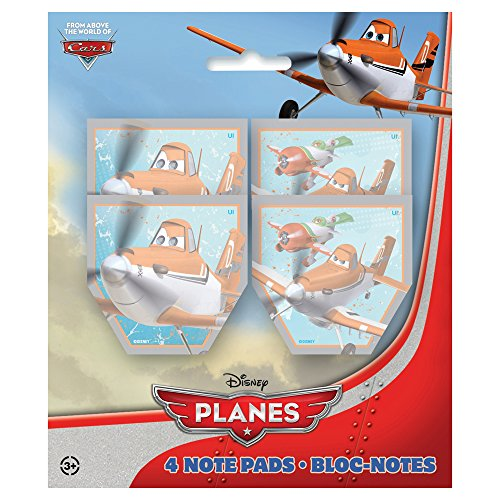 Disney Planes Notepad Party Favors, 4ct by Unique