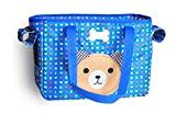 Fully Pet Carrier Bag Collapsible Portable Travel Pet-Carrier Doggie Portable Hiking Package Tote Bag 14.56x7.08x10.23'' (37x18x26cm, blue)
