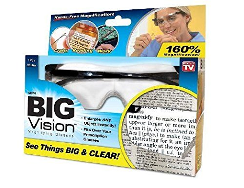 As Seen on TV Big Vision Glasses, 0.2 Pound