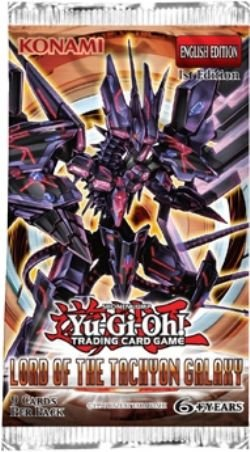 Ruler Booster Pack (YuGiOh Lord of the Tachyon Galaxy Booster Pack)