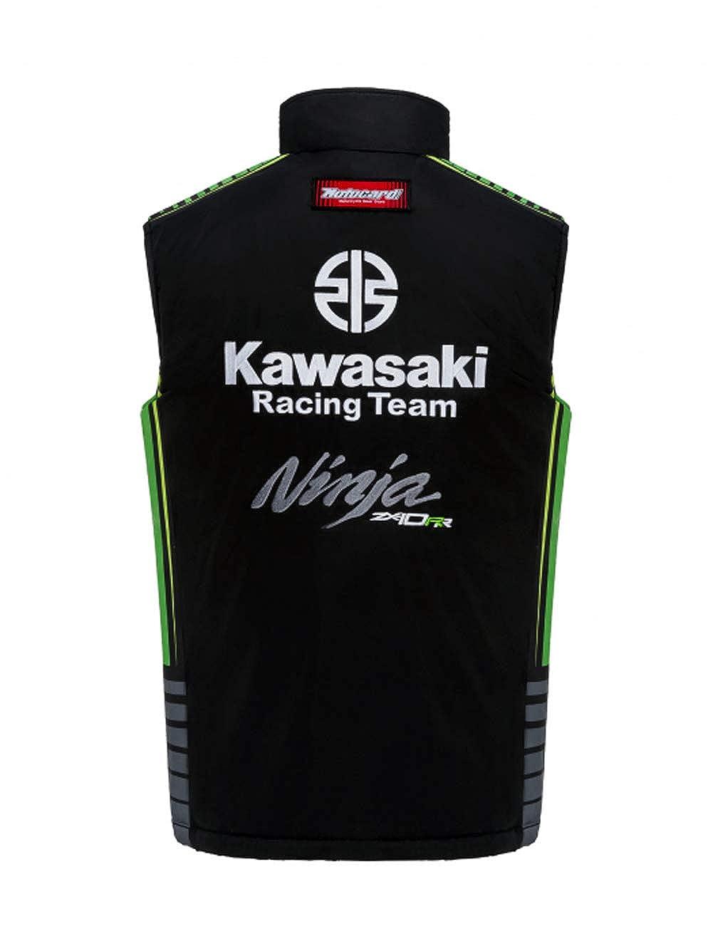 Chaqueta sin Mangas Kawasaki Racing Team - Réplica: Amazon ...
