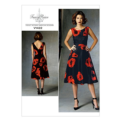 Silk Bias Tape (Vogue Patterns V1422 Misses'/Misses' Petite Dress Sewing Template, E5 (14-16-18-20-22))