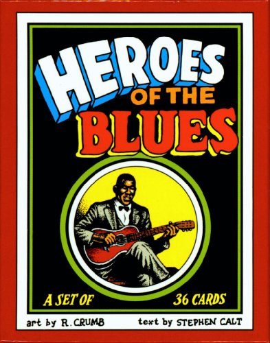 (Heroes of the Blues Boxed Trading Card Set by R. Crumb)