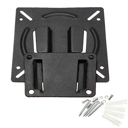 ANDROSET Wall Mount Bracket For 10-23 Inch Flat Panel Screen LCD LED Display TV