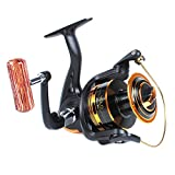 MagicSpin Ultra Light Fishing Small Spinning Reel 1000 9+1 X-STR Ball Bearings Germany Body Japan Drag Washer For Sale
