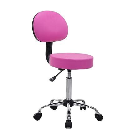 dall round salon massage chair backrest adjustable swivel hydraulic rh amazon co uk salon massage chair covers salon massage chairs for sale