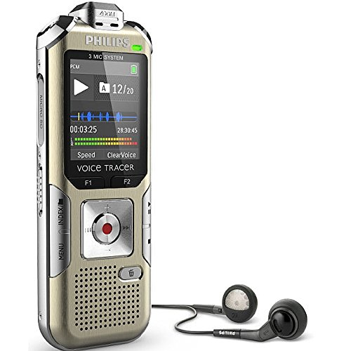 Philips DVT6500 Voice Tracer Digital Recorder for Music Recording Voice Recorder by Philips
