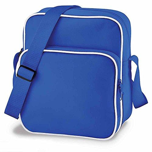 Bag Basis–Umhängetasche–Retro Day Bag BG26–Königsblau–Unisex