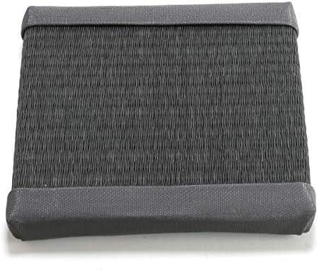 畳 いぐさ風 KANEYOSHI 花台 ミニ畳 置き い草 正方形 小 ブラック
