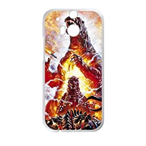 Happy Monster World Cell Phone Case for HTC One M8