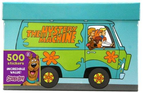 Paper Magic Scooby-Doo 800 Count Sticker -