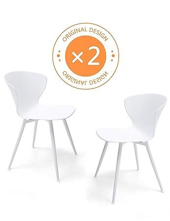 Suhu Stuhl Retro 2er Set Esszimmerstuhle Esszimmer Designer Sessel