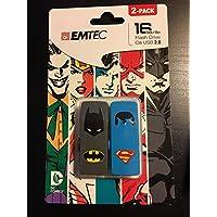 EMTEC 16gb flash drive DC comic 2 Pack